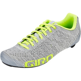 Giro Empire E70 Knit Shoes Men grey heather/highlight yellow